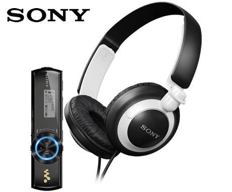 sony-nwz-b172f-walkman-audífonos-mdr-xb200-mp3-4gb-dlectro