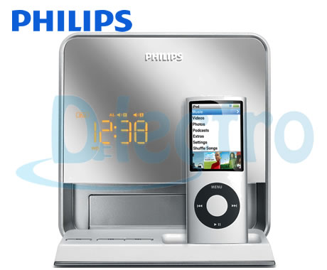 philips-dc190-radio-iphone-4- ipad-despertador-dlectro