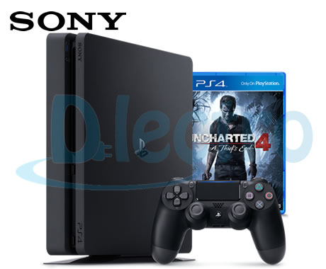 playstation-4-ps4-500gb-slim-uncharted4-dlectro